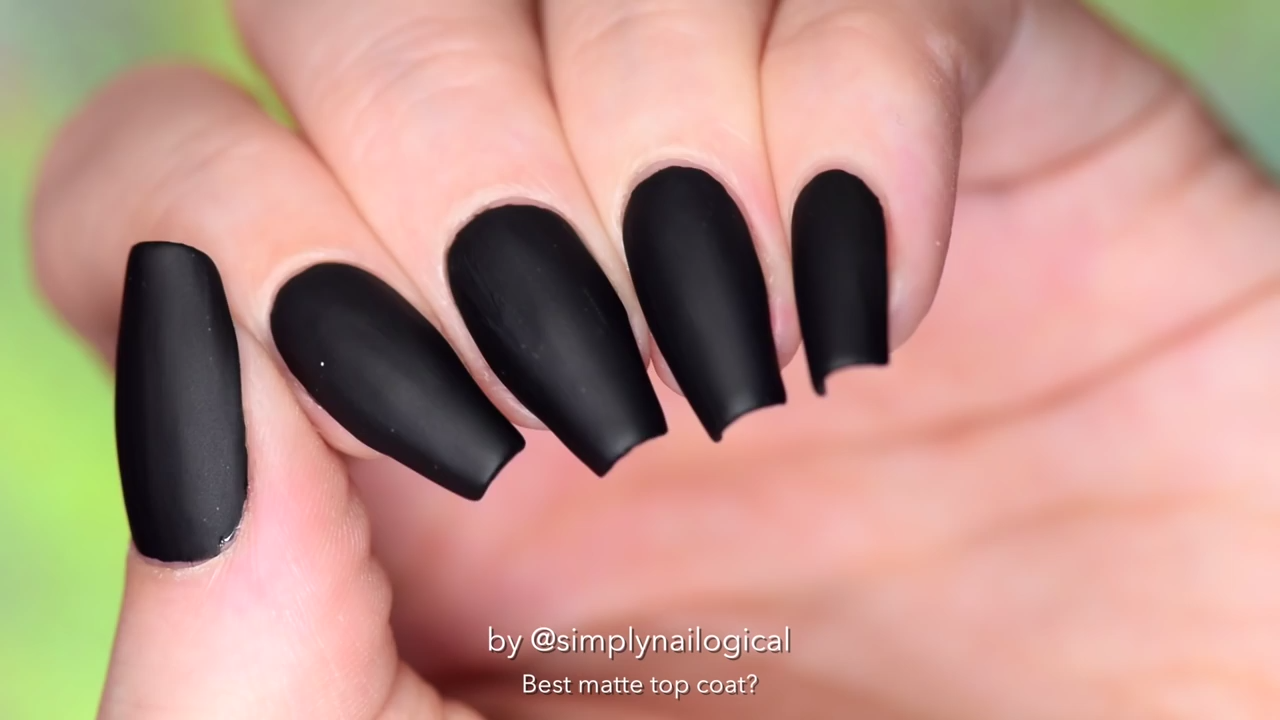 The Best Matte Top Coat For Nails - Victoria\'s Glamour