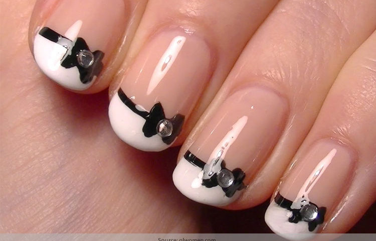 Chic And Classy Bow Nail Art For The Girly Girl In You Victorias