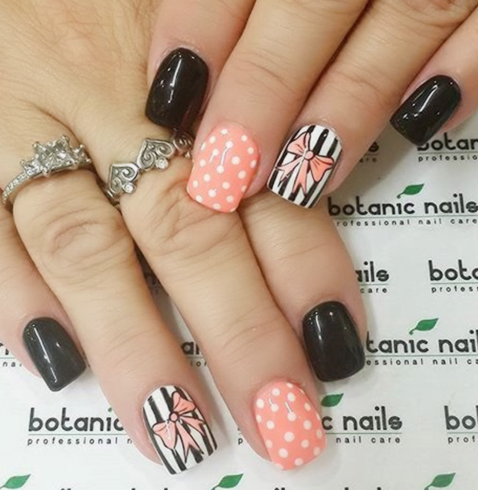 Chic And Classy Bow Nail Art For The Girly Girl In You - Victoria\'s ...