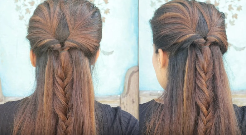 Quick And Easy Everyday Heatless Braided Hairstyles Victorias - Hairstyle easy videos