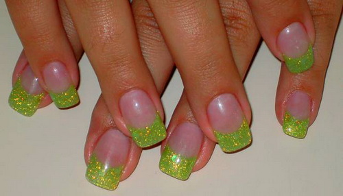 Lime Green Nail Designs Victorias Glamour