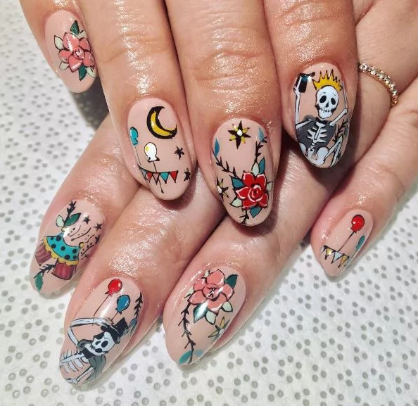 These Tattoo Nail Art Patterns Will Get Under Your Skin Victorias