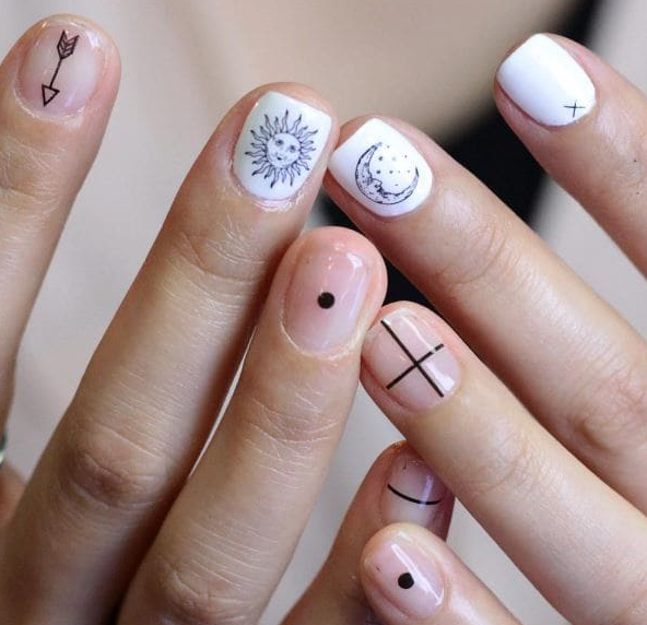 These Tattoo Nail Art Patterns Will Get Under Your Skin - Victoria\'s ...