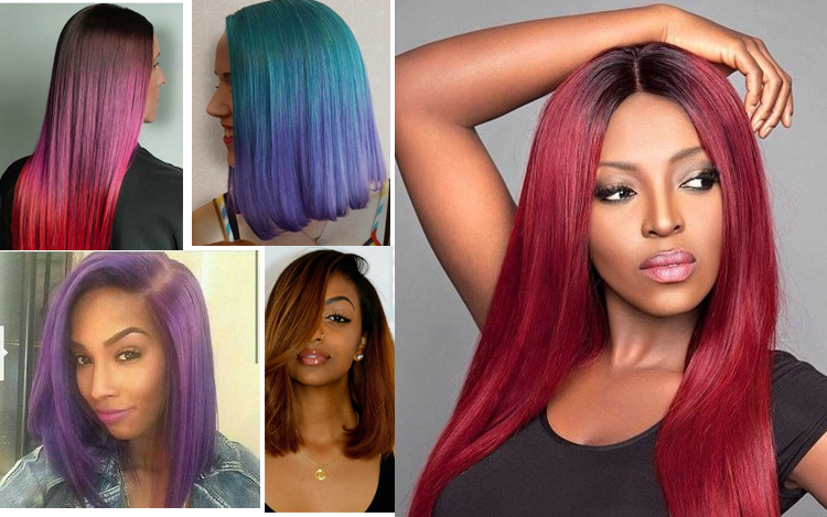 Hair Color For Black Women – All Hail The Gorgeous Dark Skinned ...