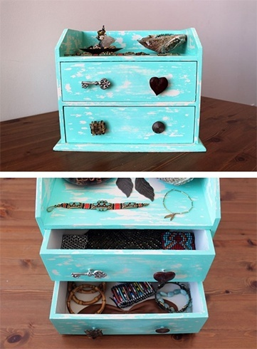 Fun And Easy DIY Jewellery Box Ideas Victorias Glamour