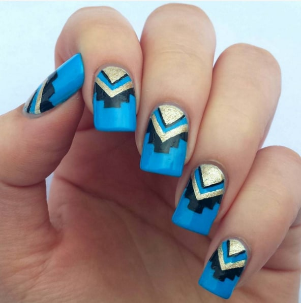 Tribal Nails To Rock Daytime, Nighttime And Anytime - Victoria\'s Glamour