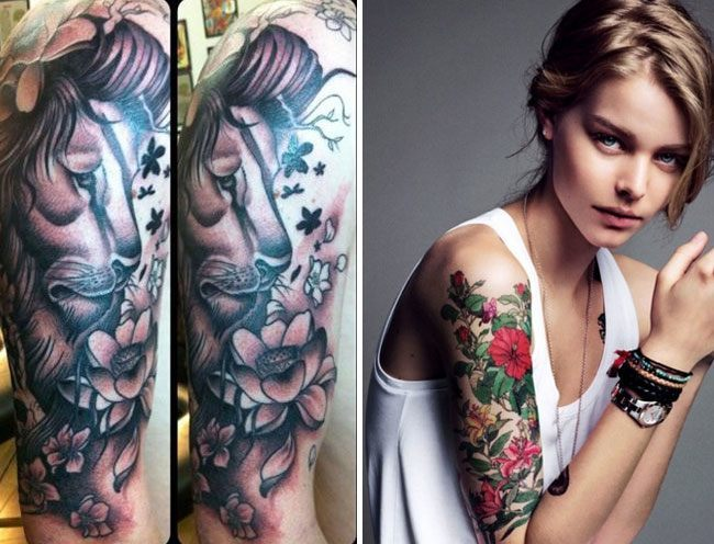 Cute Arm Tattoo Designs For Women