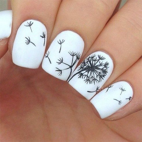 10 beautiful nail art designs just for you hello pretty nails this flower art on nails is for those who love their freedom and do not like anything holding them back you could either use tools or stickers to create prinsesfo Images