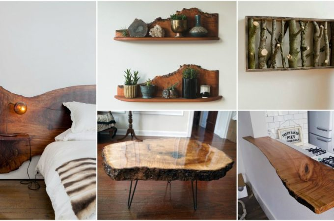 12 RAW Wood DIY Decorations That Will Bring The Nature In Your Home