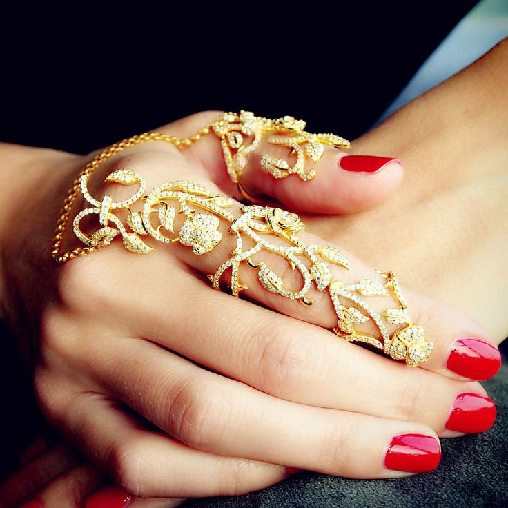 29 Full Finger Ring Design Jewelry - Victoria\'s Glamour