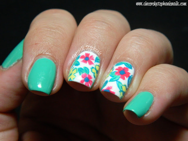 Mint Nail Designs - Hottest Spring Trend - Victoria\'s Glamour