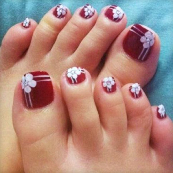 Toes nail art design pictures image collections nail art and toe nail art designs victorias glamour beautiful toe nail art designs prinsesfo image collections prinsesfo Images