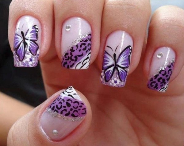 Pretty Butterfly Nail Art Designs Victoria S Glamour
