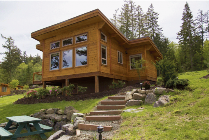 10 amazing kit homes victoria s glamour for Log cabin kit homes victoria