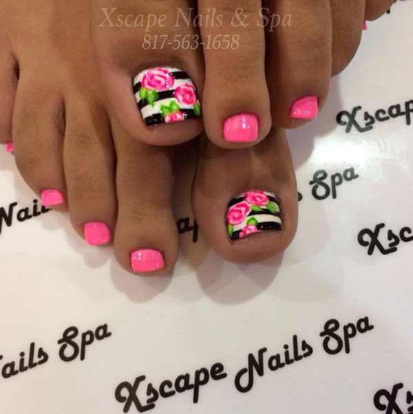Valentines Day Toe Nails Designs Victoria S Glamour