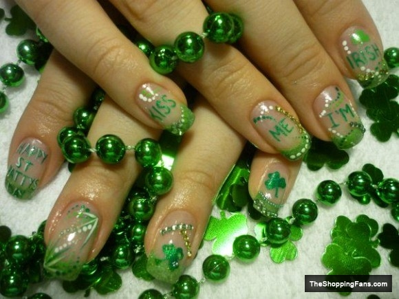 Refreshing Green Nail Art Ideas Victorias Glamour