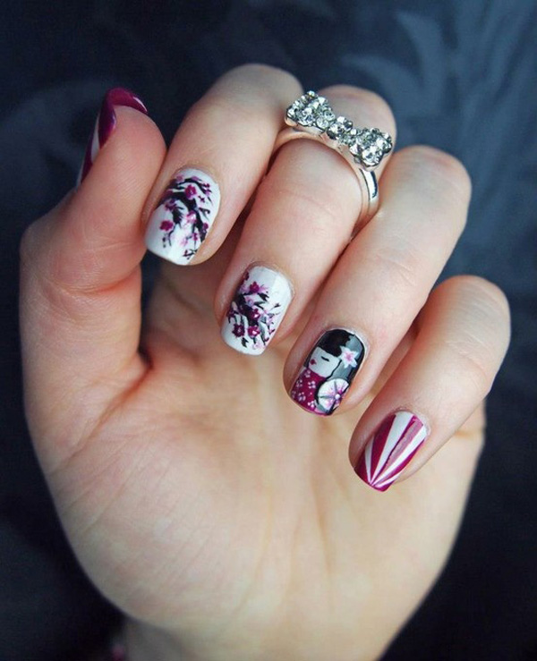 Japanese Nail Art Designs Victorias Glamour