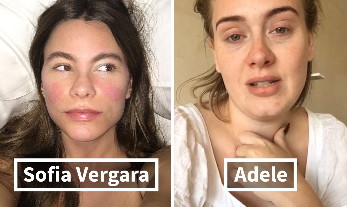 celebrities without makeup prove they look no better than