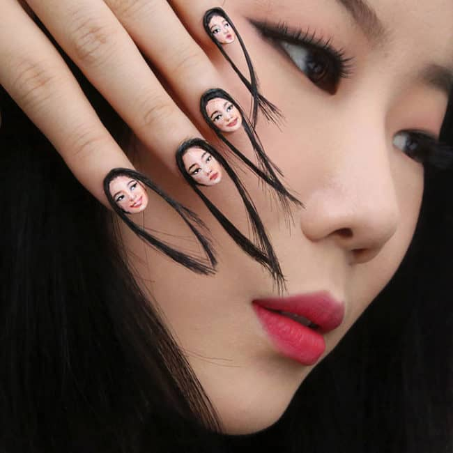 Hair-Raising Selfie Nails Are The Newest Invention Of A Visual ...